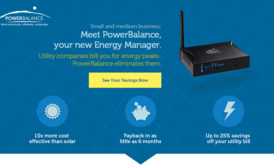 Responsive Dynamic Landing Page For PowerBalance