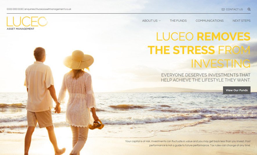 WordPress theme for Luceo Asset Management